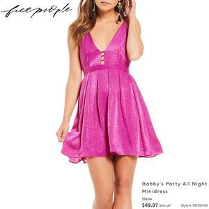 Free People - 'Gabby's Party All Night' Minidress